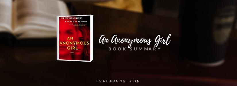 An Anonymous Girl by Greer Hendricks (BookSummary)