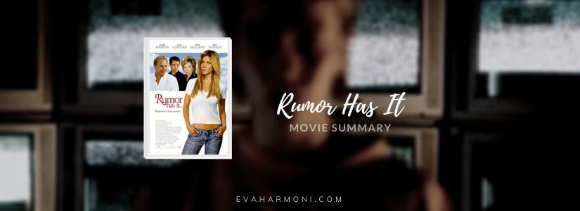 Rumor Has It (Movie Spoiler/Summary)